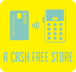 This small shop offers you a cash free store