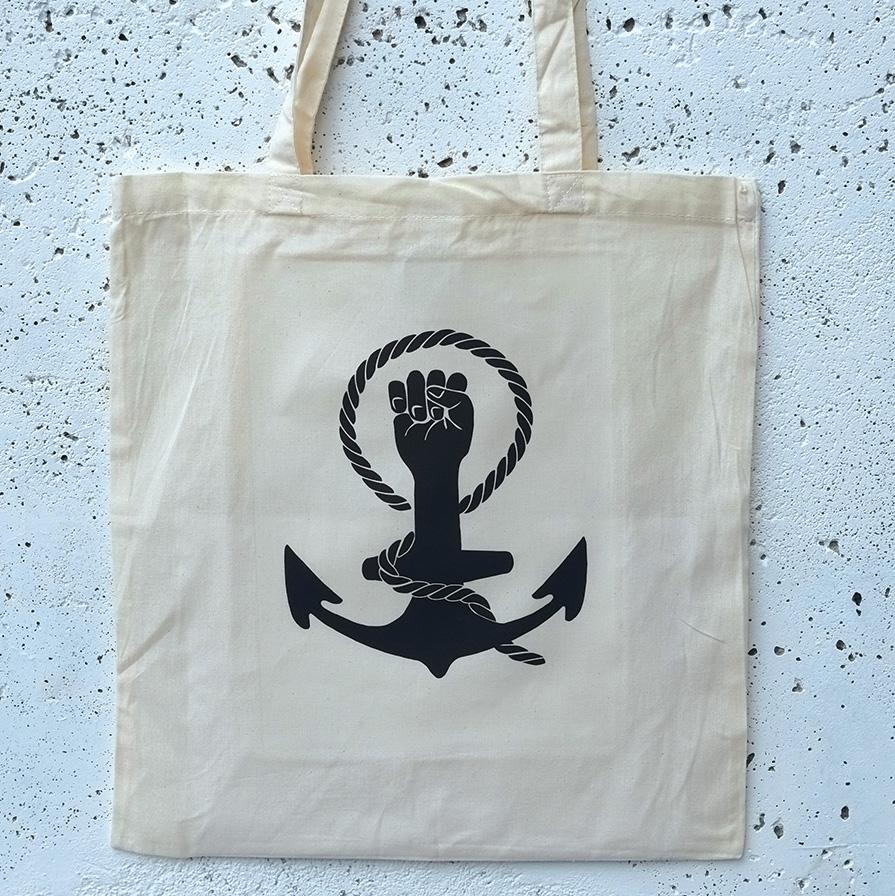 Tote bag feminist anchor