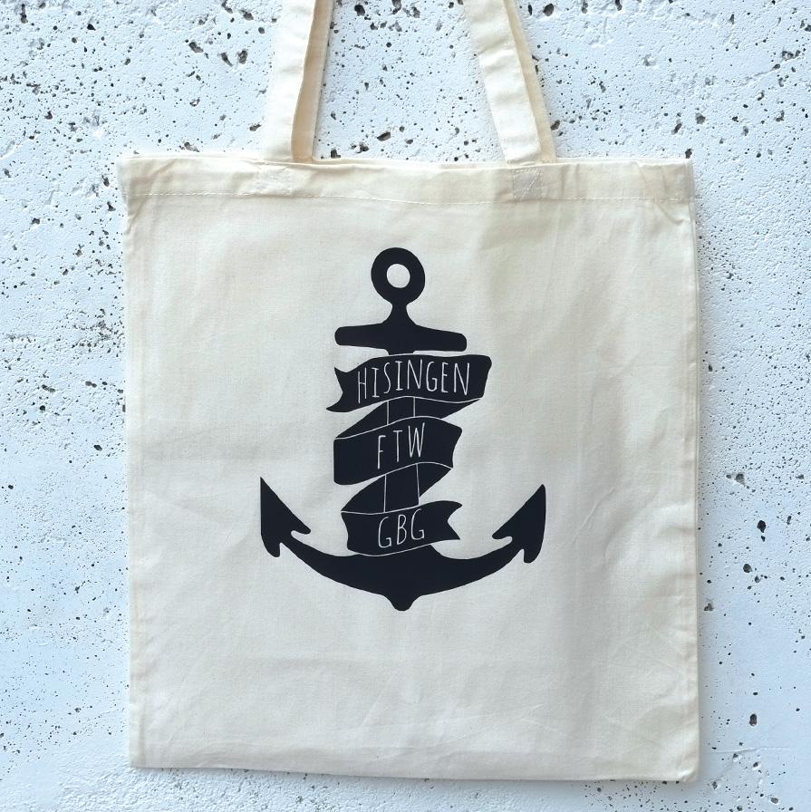 Tote bag Hisingen anchor