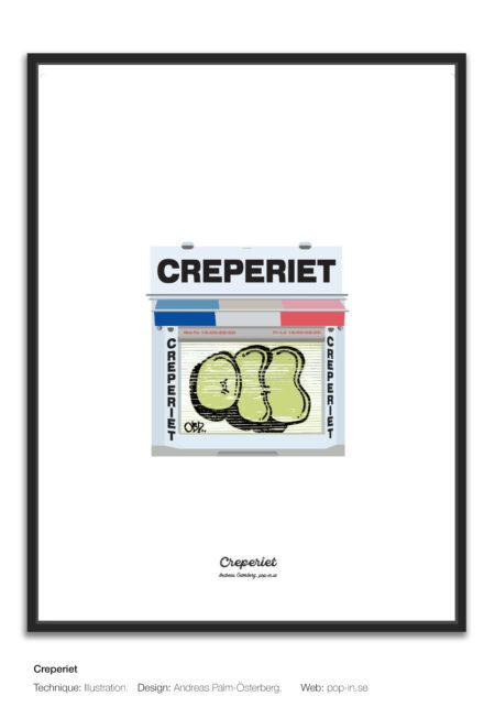 Creperiet framed