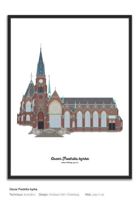 Oscar Fredriks kyrka framed