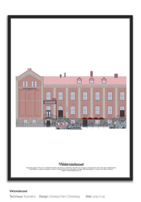 Viktoriahuset framed