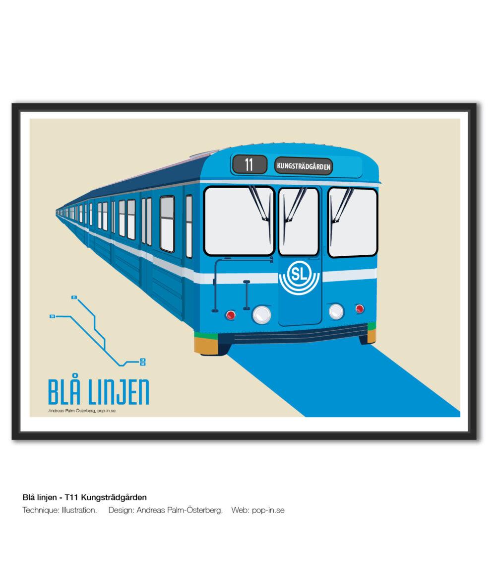 Blå linjen T11 Kungsträdgården