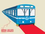 STHLM T-bana Röda linjen