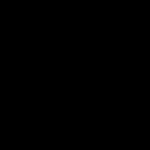 Pop-in logo black and white