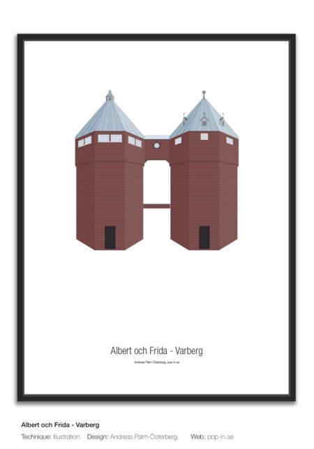 Vattentornen Albert och Frida Varberg