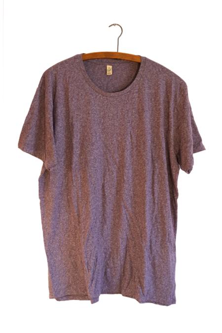 Purple organic T-shirt