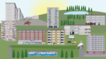 Stadsdel Bergsjön visuell guide