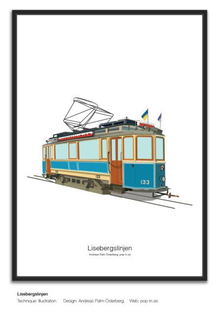 Lisebergslinjen 12 vagn 133
