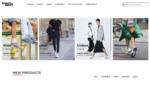 Sneakers wordpress theme frontpage