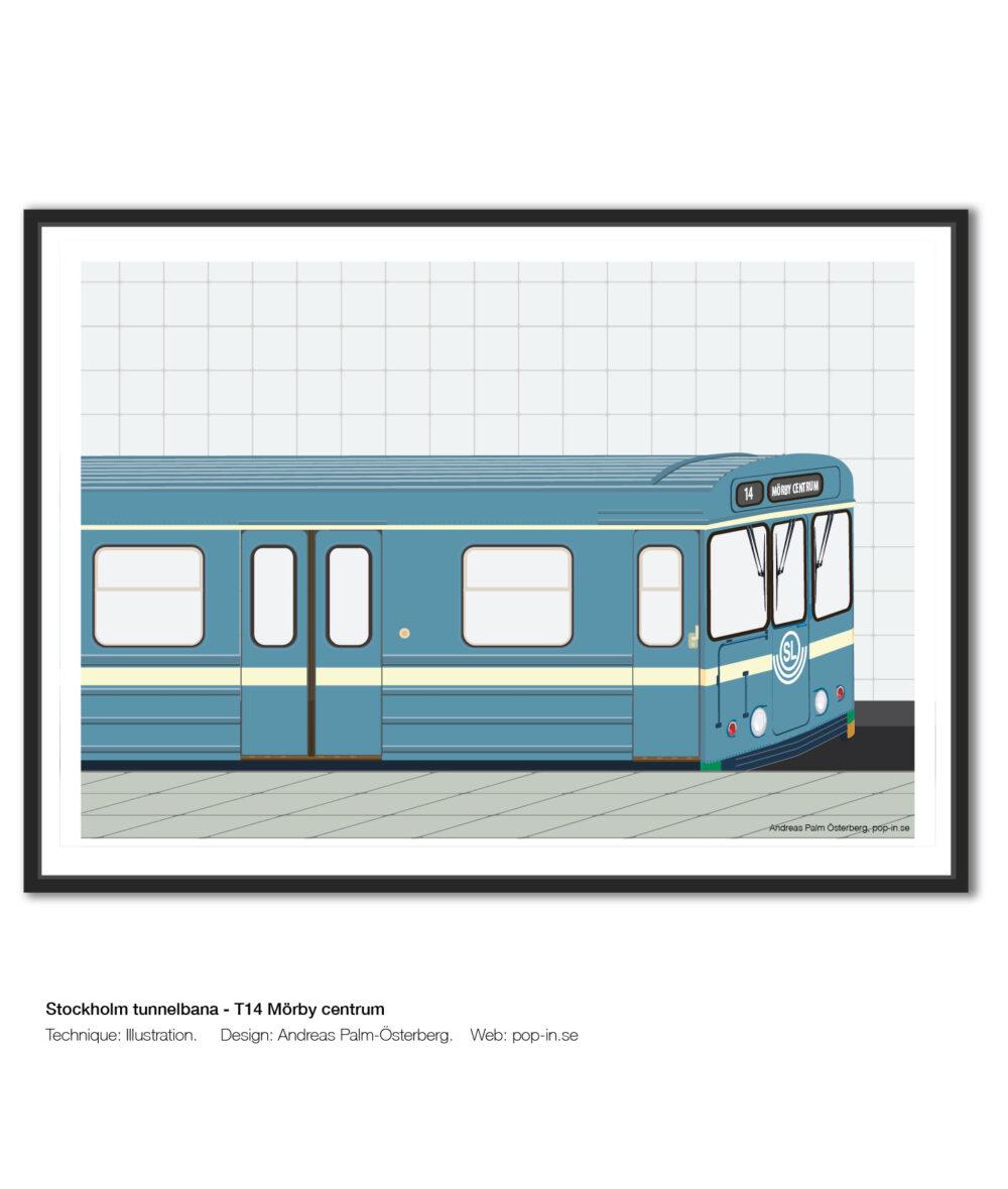 Stockholm tunnelbana valfri linje